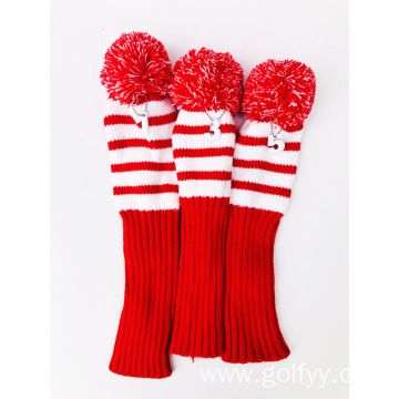 2-Layer Knitting Golf Head Cover